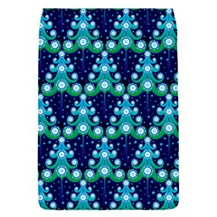 Christmas Tree Snow Green Blue Flap Covers (S)