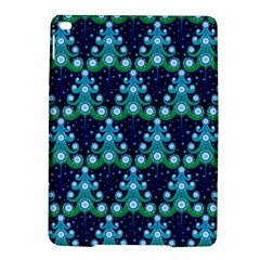 Christmas Tree Snow Green Blue iPad Air 2 Hardshell Cases