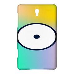 Illustrated Circle Round Polka Rainbow Samsung Galaxy Tab S (8.4 ) Hardshell Case