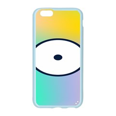 Illustrated Circle Round Polka Rainbow Apple Seamless iPhone 6/6S Case (Color)
