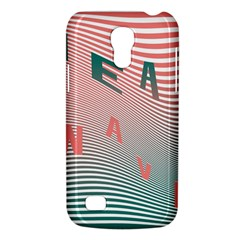 Heat Wave Chevron Waves Red Green Galaxy S4 Mini