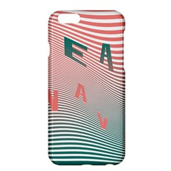 Heat Wave Chevron Waves Red Green Apple iPhone 6 Plus/6S Plus Hardshell Case