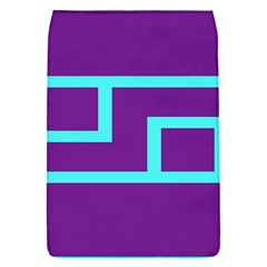 Illustrated Position Purple Blue Star Zodiac Flap Covers (S)