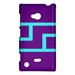 Illustrated Position Purple Blue Star Zodiac Nokia Lumia 720