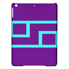Illustrated Position Purple Blue Star Zodiac iPad Air Hardshell Cases