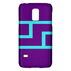 Illustrated Position Purple Blue Star Zodiac Galaxy S5 Mini