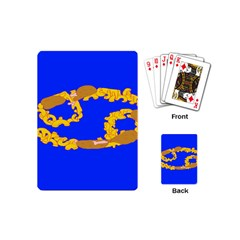 Illustrated 69 Blue Yellow Star Zodiac Playing Cards (Mini)