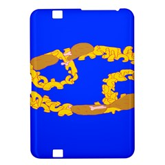 Illustrated 69 Blue Yellow Star Zodiac Kindle Fire HD 8.9