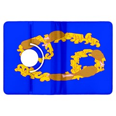 Illustrated 69 Blue Yellow Star Zodiac Kindle Fire Hdx Flip 360 Case