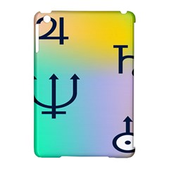 Illustrated Zodiac Star Apple iPad Mini Hardshell Case (Compatible with Smart Cover)