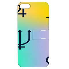 Illustrated Zodiac Star Apple iPhone 5 Hardshell Case with Stand