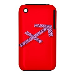 Illustrated Zodiac Star Red Purple iPhone 3S/3GS