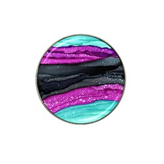 Green Pink Purple Black Stone Hat Clip Ball Marker (10 pack)