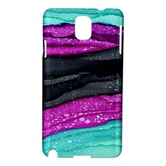 Green Pink Purple Black Stone Samsung Galaxy Note 3 N9005 Hardshell Case