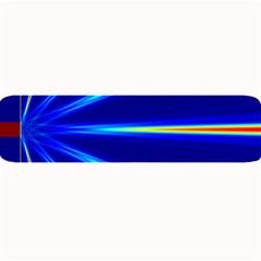 Light Neon Blue Large Bar Mats