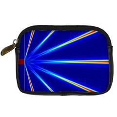 Light Neon Blue Digital Camera Cases
