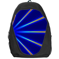 Light Neon Blue Backpack Bag