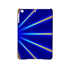 Light Neon Blue iPad Mini 2 Hardshell Cases