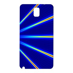Light Neon Blue Samsung Galaxy Note 3 N9005 Hardshell Back Case