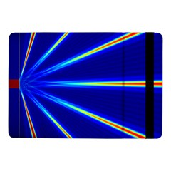 Light Neon Blue Samsung Galaxy Tab Pro 10.1  Flip Case