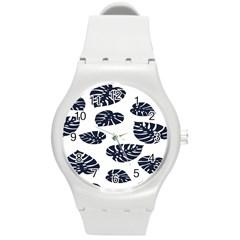 Leaf Summer Tech Round Plastic Sport Watch (M)