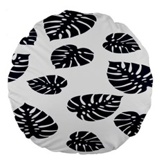 Leaf Summer Tech Large 18  Premium Round Cushions