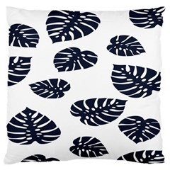 Leaf Summer Tech Large Flano Cushion Case (Two Sides)