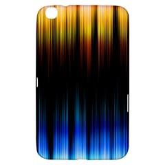 Light Orange Blue Samsung Galaxy Tab 3 (8 ) T3100 Hardshell Case