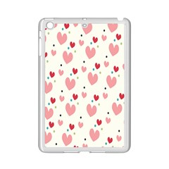 Love Heart Pink Polka Valentine Red Black Green White iPad Mini 2 Enamel Coated Cases