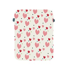 Love Heart Pink Polka Valentine Red Black Green White Apple iPad 2/3/4 Protective Soft Cases