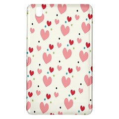 Love Heart Pink Polka Valentine Red Black Green White Samsung Galaxy Tab Pro 8.4 Hardshell Case