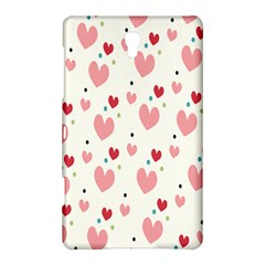 Love Heart Pink Polka Valentine Red Black Green White Samsung Galaxy Tab S (8.4 ) Hardshell Case