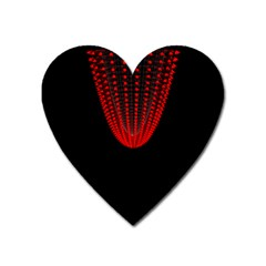 Normal Field Of An Elliptic Paraboloid Red Heart Magnet