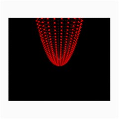Normal Field Of An Elliptic Paraboloid Red Small Glasses Cloth (2-Side)