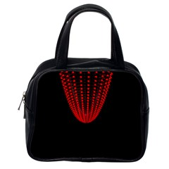 Normal Field Of An Elliptic Paraboloid Red Classic Handbags (One Side)