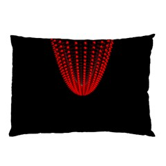 Normal Field Of An Elliptic Paraboloid Red Pillow Case (Two Sides)