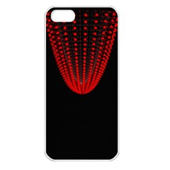 Normal Field Of An Elliptic Paraboloid Red Apple iPhone 5 Seamless Case (White)