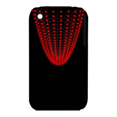 Normal Field Of An Elliptic Paraboloid Red iPhone 3S/3GS