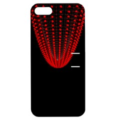 Normal Field Of An Elliptic Paraboloid Red Apple iPhone 5 Hardshell Case with Stand