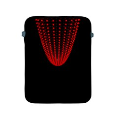 Normal Field Of An Elliptic Paraboloid Red Apple iPad 2/3/4 Protective Soft Cases