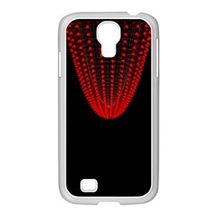 Normal Field Of An Elliptic Paraboloid Red Samsung GALAXY S4 I9500/ I9505 Case (White)