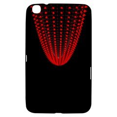 Normal Field Of An Elliptic Paraboloid Red Samsung Galaxy Tab 3 (8 ) T3100 Hardshell Case
