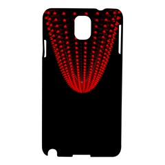 Normal Field Of An Elliptic Paraboloid Red Samsung Galaxy Note 3 N9005 Hardshell Case