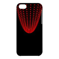 Normal Field Of An Elliptic Paraboloid Red Apple iPhone 5C Hardshell Case
