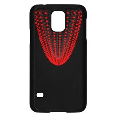 Normal Field Of An Elliptic Paraboloid Red Samsung Galaxy S5 Case (black)