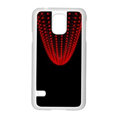 Normal Field Of An Elliptic Paraboloid Red Samsung Galaxy S5 Case (White)
