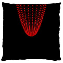 Normal Field Of An Elliptic Paraboloid Red Large Flano Cushion Case (Two Sides)