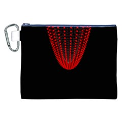 Normal Field Of An Elliptic Paraboloid Red Canvas Cosmetic Bag (XXL)