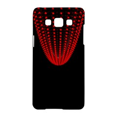 Normal Field Of An Elliptic Paraboloid Red Samsung Galaxy A5 Hardshell Case