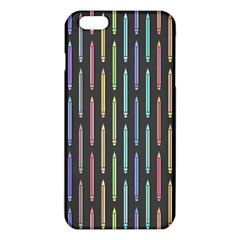 Pencil Stationery Rainbow Vertical Color iPhone 6 Plus/6S Plus TPU Case